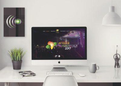 Conception du nouveau site web du festival Afriqu'à Muret.