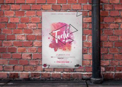 Affiche du concert Rap Twelve