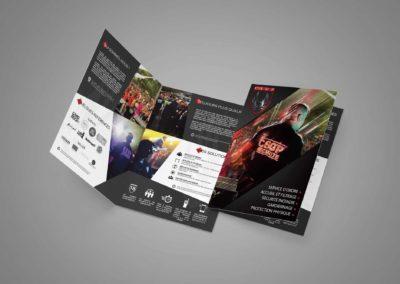 Brochure commerciale de la société de sécurité CSGP