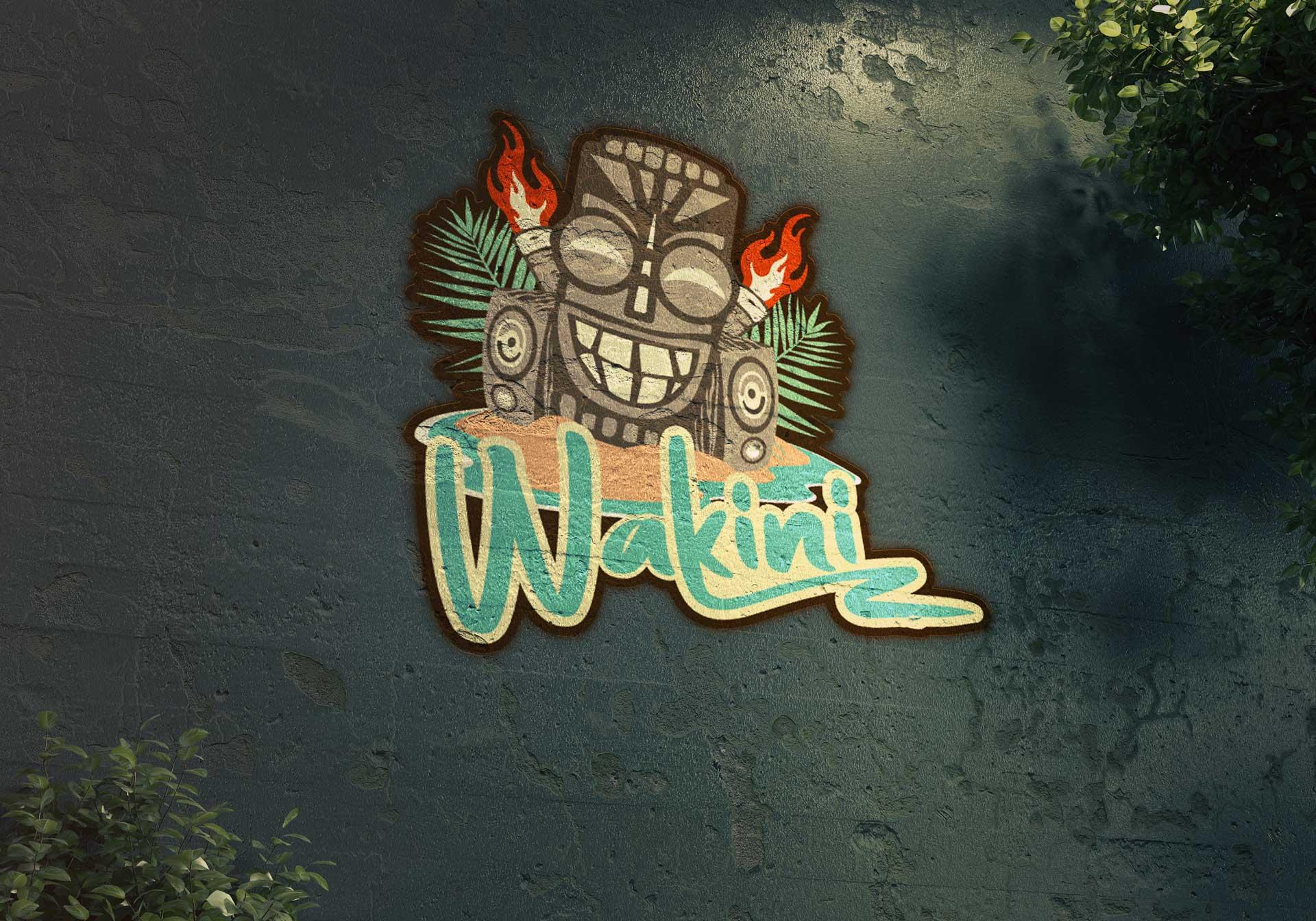 Logotype Wakini